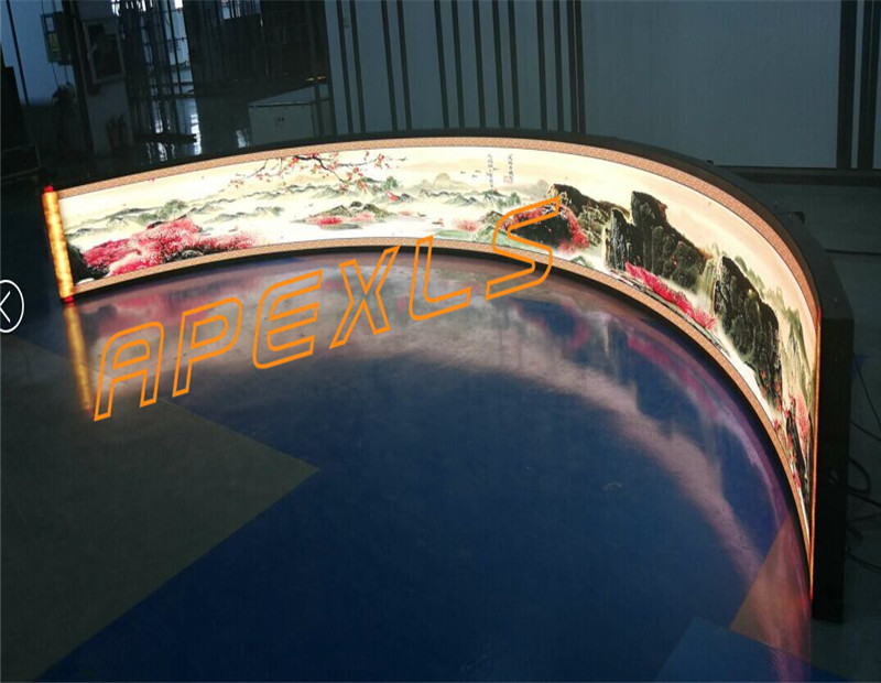 P2.5MM flexible LED screen in The Philippines