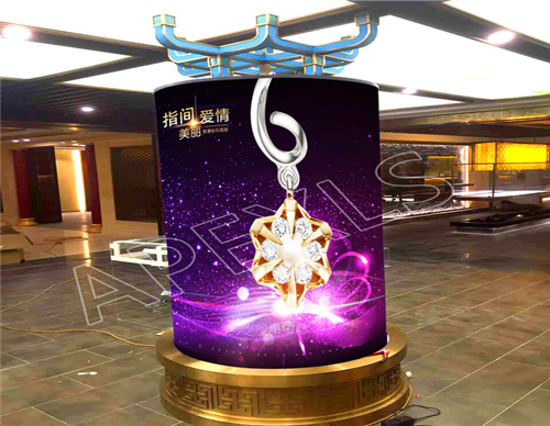 P6mm Cylindrical LED Display in Shenyang