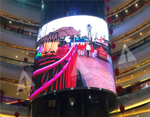 P5 Full Color SMD LED Energy Saving Display in Zhongshan