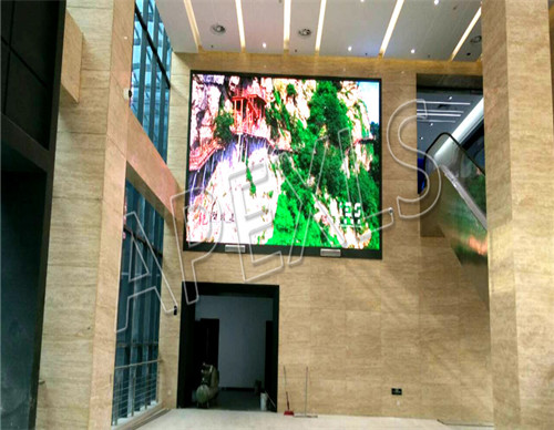 P6mm Indoor LED Display in Henan with 211㎡