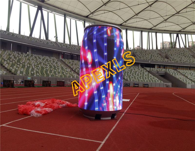 P8mm LED Cans display in Baoan Stadium, Shenzhen, China