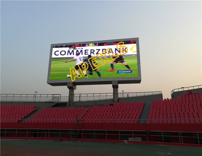 utdoor Advertising LED Display in Langfang Stadium, China