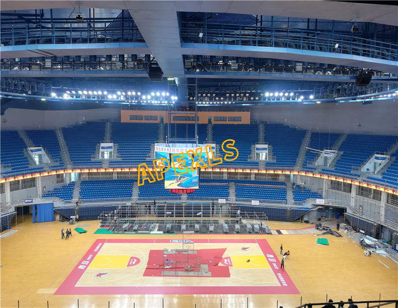 Indoor LED Display in Qingdao Guoxin Sports Center, China