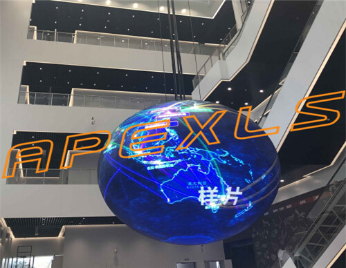 P4mm Indoor led Sphere Display Screen with Diameter 5m