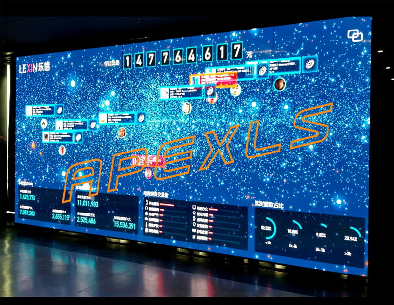 P1.5MM indoor COB display screen in Shenzhen